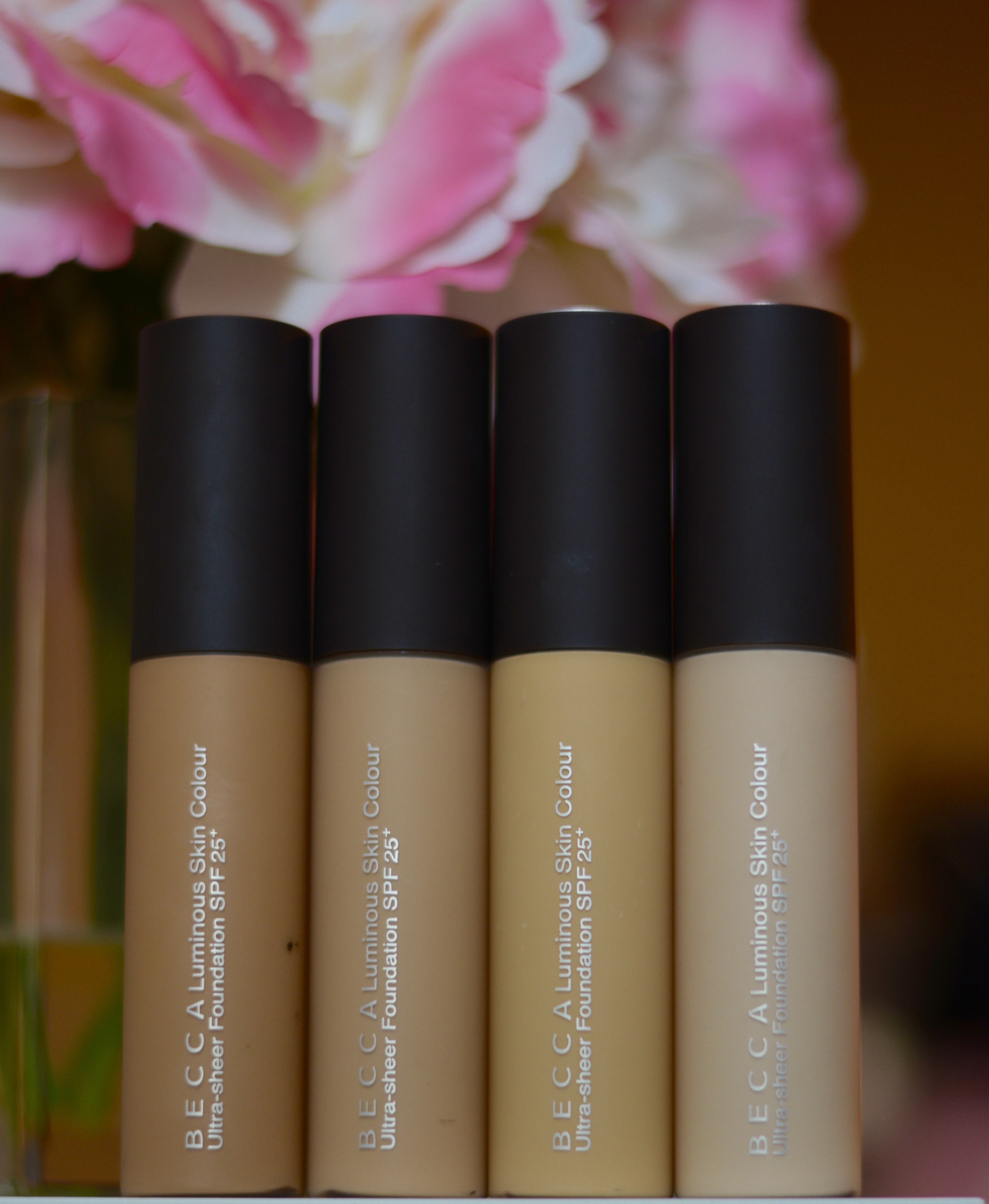 Colour care foundation - I Can T Believe It Has Taken Me This Long To Blog About My Favorite Foundation Becca S Luminous Skin Colour Is An Ultra Sheer Foundation With Spf 25